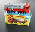 Matchbox No.10 - Pipe Truck - Very Good Condition