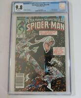 Spectacular Spider-Man #90 Newstand CGC 9.8 1st Black Costume in Title Blackcat