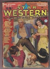 Star Western July 1935 Pulp Harry F Olmsted Gunnison Steele Art Lawson T T Flynn