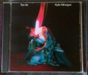 "Kylie Minogue ""Too Far"" MAXI-CD SINGLE Remixes NEW & SEALED - RARE"