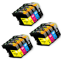 New Inkjet Cartridges for Brother LC203XL works for MFC J460DW J480DW J485DW