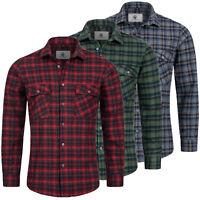 Rock Creek Herren Karohemd Flanellhemd Holzfällerhemd Herren Hemd Kariert H-250