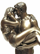 Lovers Pair Figure Sculpture with Cold bronze coating 20078C