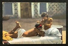postcard Africa Lehnert & Landrock Naked young girl Nude woman
