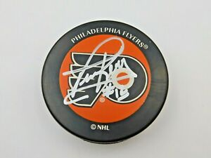 NHL Tim Kerr Signed Philadelphia Flyers Puck w/ COA
