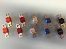 10 Paquete De Fusibles Midi - 2 X cada 30 A, 50 A, 80 A, 100 A, 150 A