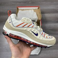 NIKE AIR MAX 98 SAIL PURPLE TRAINERS SHOES SIZES UK8 US9 EUR42.5