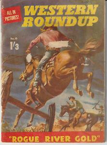 Australian Comic: Western Round Up #10 Junior Readers' Press 1960