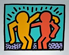 "Keith Haring ""Best Buddies"" Print Signed Numbered Artwork"