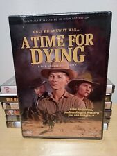 A Time For Dying Audie Murphy DVD US Import Region 1 NEW & SEALED