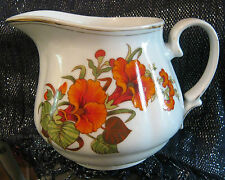 Lovely JRJS Cluj Romania jug with floral design 5.5 ins tall