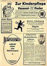 Carl Genter Göppingen Nigrin Schuhzeug mit Schornsteinfeger Schutzmarke Ad 1918