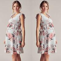 Pregnant Women Summer Casual Mini Dress Evening Party Maternity Dresses Clothes