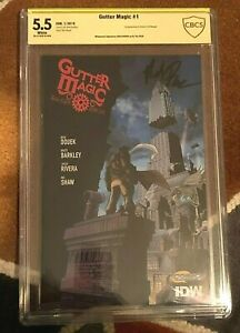 GUTTER MAGIC #1 1st APPEARANCE CBCS CGC Signature Series CERTIFIED AUTOGRAPHED