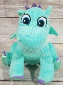 "Disney Sophia the First Plush Crackle the Dragon Stuffed Animal 8"" Jakks Pacific"