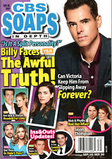 CBS Soaps In Depth Magazine September 30 2019 Jason Thompson Tyler Johnson