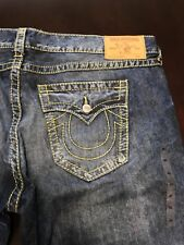 TRUE RELIGION MENS SKINNY BIG T JEANS SZ 46