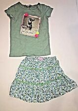 Pristine Lilly Pulitzer monkey skirt and J crew Tee Little Girls 4