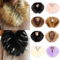 foulard modern style la fausse fourrure l'hiver chaud les femmes. col de veste