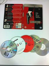 GREATEST EVER GANGSTERS - 5 FILMS DVD - STEELBOOK - SCARFACE TAXI DRIVER CASINO