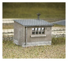 en bois SOL huttes (x2) - ratio 511 - OO/HO Building Kit - F1