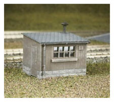 Wooden Lineside Huts (x2) - Ratio 511 - OO/HO Building Kit - F1
