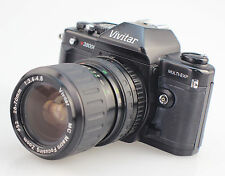 Vivitar V3800N 35mm Manual SLR Camera With 28-70mm Macro Zoom Lens