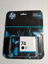 NEW Genuine HP #74 Black Ink Cartridge CB335WN