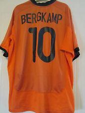 Bergkamp 10 2000-2002 Holland Home Football Shirt Talla Xxl / 39749