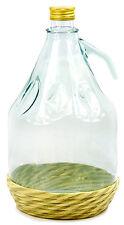 20L Weinballon Glasflasche Glasballon Glasgärballon Kunststoffkorb Deckel