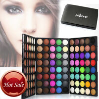 120 COLORS Womens Matte Eyeshadow Cream Eye Shadow Makeup Palette Shimmer Set