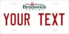 New Brunswick 1992 license plate Personalized Auto Car Custom VEHICLE OR MOPED
