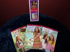 American Girl Doll Mini Lea Clark GOTY With 3 Books NEW!!