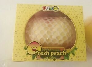 RARE MEGA Peach PUNI-MARU Squishies (YELLOW)
