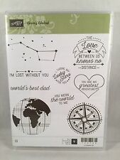 GOING GLOBAL Stampin Up New World Dad Father Lucky Stars Compass