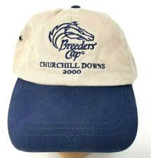 Breeders Cup baseball cap Churchill Downs 2000 OS Tan