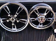 harley streetglide enforcer wheels chromed SALE