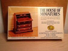 House of Miniatures: Chippendale Slant Front Desk.