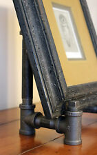 Picture Frame Easel Black Iron Industrial