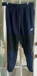 Men's Nike Sportswear Woven Track Pants Obsidian Blue/Black BV5387-451Size XL