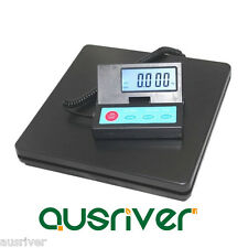 50kg/2g Digital Platform Warehouse Shipping Scale LCD Backlit Display Post Scale