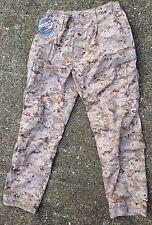 USMC DESERT MARPAT COMBAT TROUSER PANTS, FROG DEFENDER M, LARGE - REGULAR, NEW