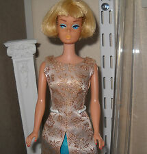 Stunning Vintage 1965 Blonde American Girl w/Vintage Evening Gala & Display Case
