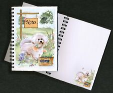 Bichon Frise Dog Notebook/Notepad + small image on every page by Starprint