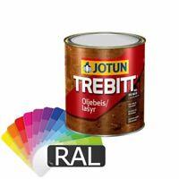 Jotun Trebitt Lasur 0,75l - Farbton: RAL 3000 Feuerrot - SALE% Holzlasur
