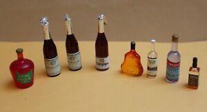 Puppenstube 1:12, Flaschen-Set