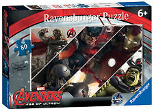 MARVEL AVENGERS AGE OF ULTRON 80 PIECE RAVENSBURGER JIGSAW PUZZLE