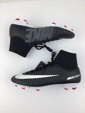 Nike Mercurial Victory VI DF FG ⚽Soccer Cleats Sz 8 Black/Dark Grey N5-21-39