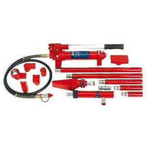 Sealey RE97/4 Hydraulic Body Repair Kit 4tonne Snap Type Hand Operated Pump Hose