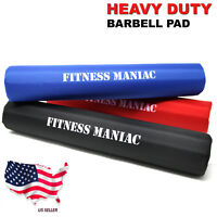 Barbell Pad Squat Bar Supports Gym Weight Lifting Neck Protect Foam Pull Up Grip